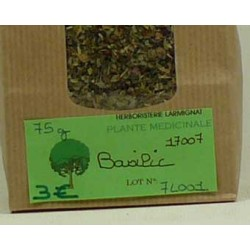 BASILIC feuilles paquet de 75 g