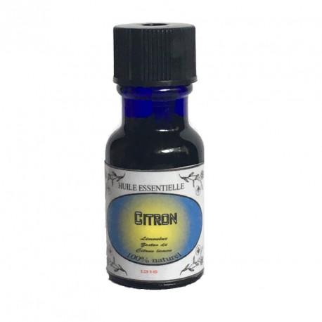 CITRON BIO Citrus limon flacon de 15 ml